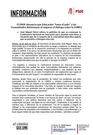 NOTA JOSE MIGUEL PÉREZ LOMCE 200416