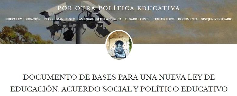 PorOtraPoliticaEducativa-ForoSevilla