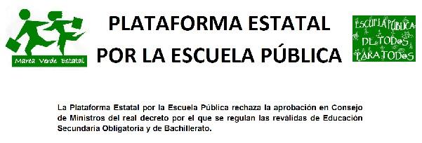 PlataformaEstatal-DecretoREVALIDAS